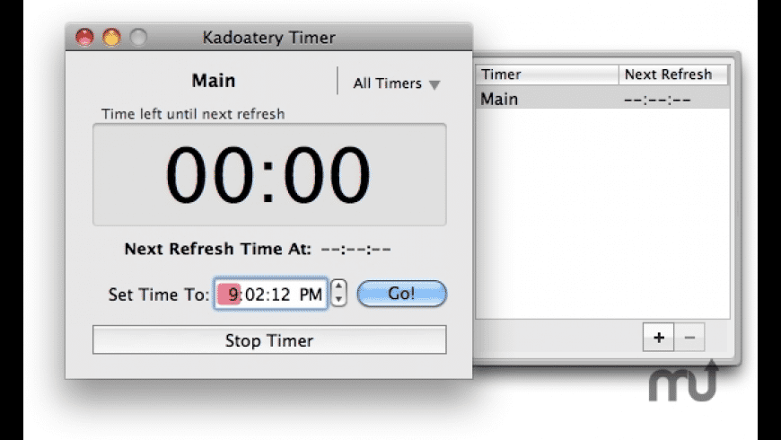 Kadoatery Timer for Mac - review, screenshots