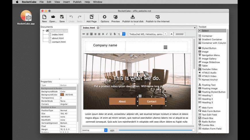 RocketCake for Mac - review, screenshots