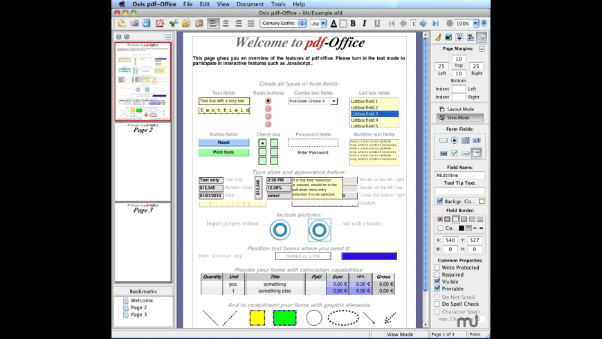 pdf-Office Professional for Mac - review, screenshots