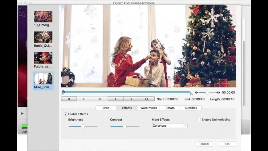 Cisdem DVD Burner for Mac - review, screenshots