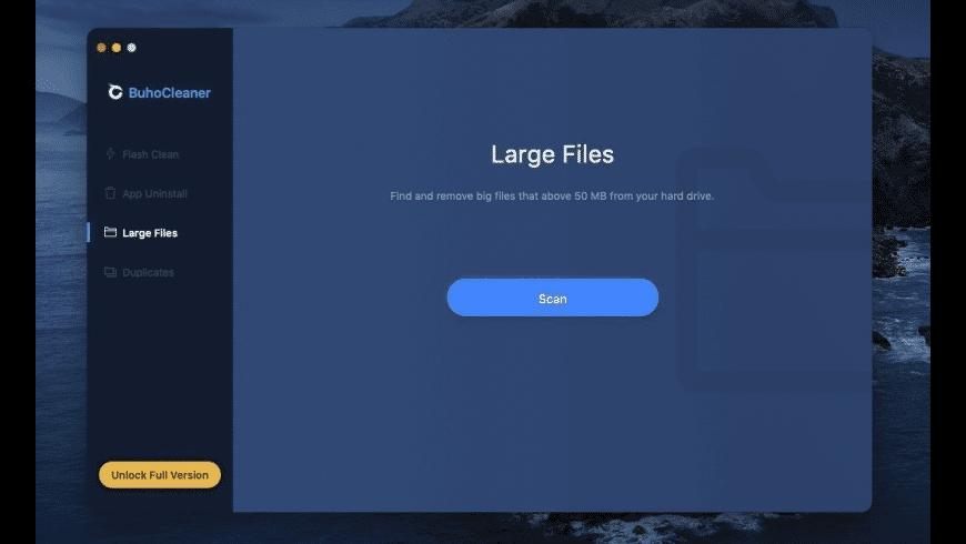 BuhoCleaner for Mac - review, screenshots
