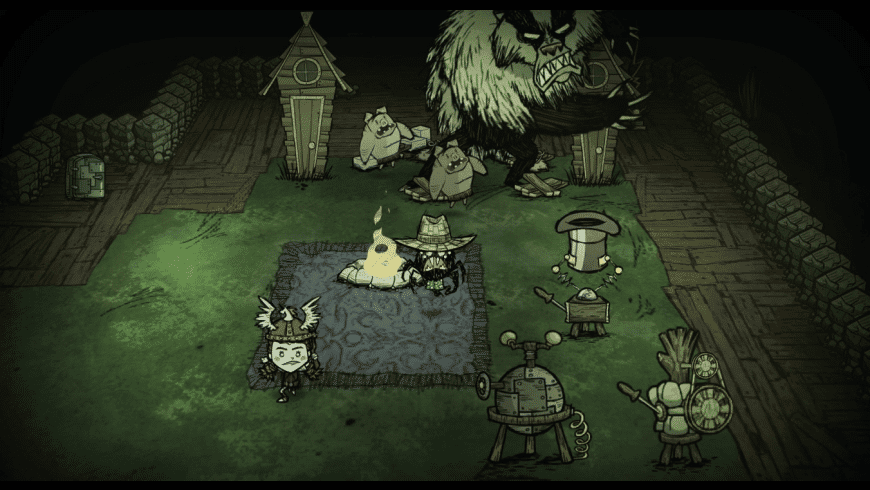 Don't Starve Together for Mac - review, screenshots