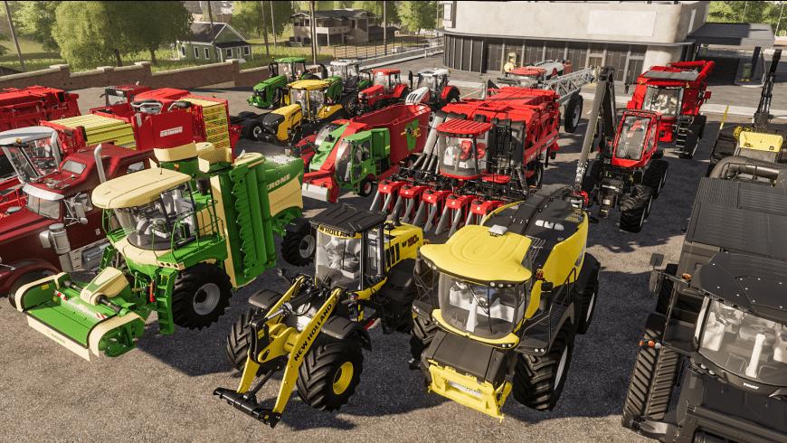 Farming Simulator 19 for Mac - review, screenshots