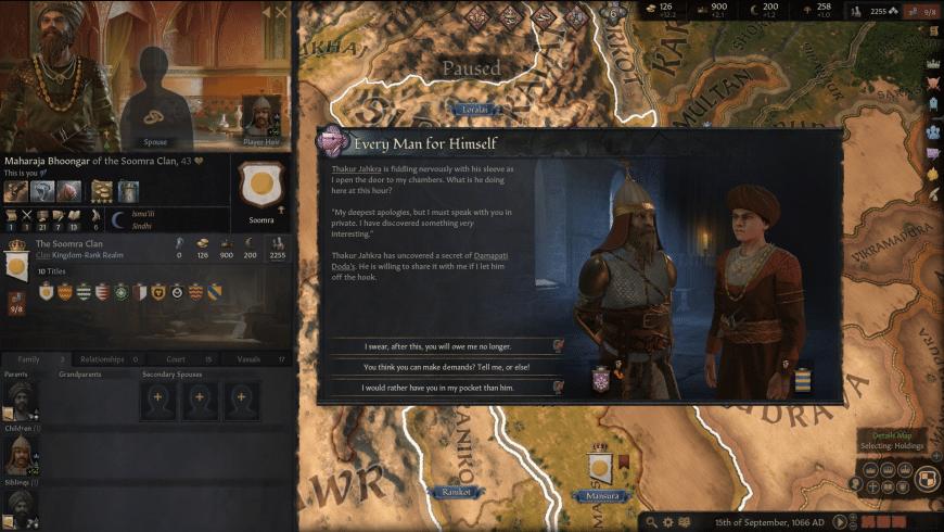 Crusader Kings III for Mac - review, screenshots