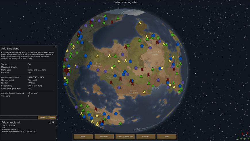 RimWorld for Mac - review, screenshots