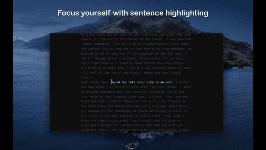uFocus for Mac - review, screenshots