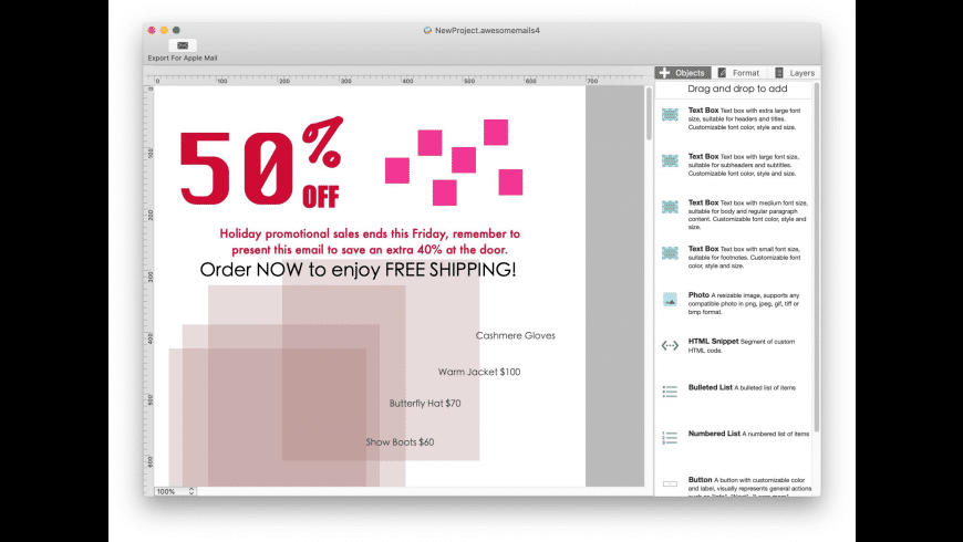 Awesome Mails Pro for Mac - review, screenshots