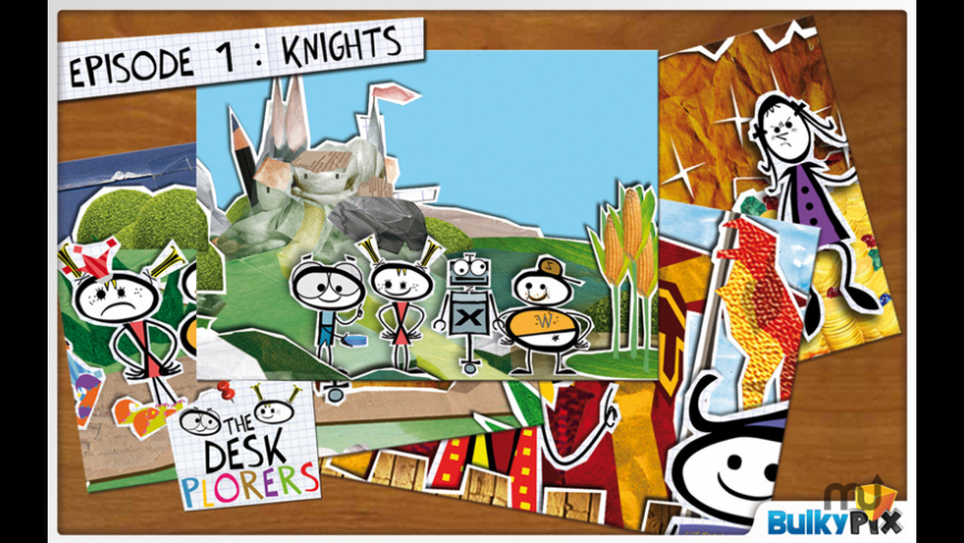 Deskplorers Knights for Mac - review, screenshots
