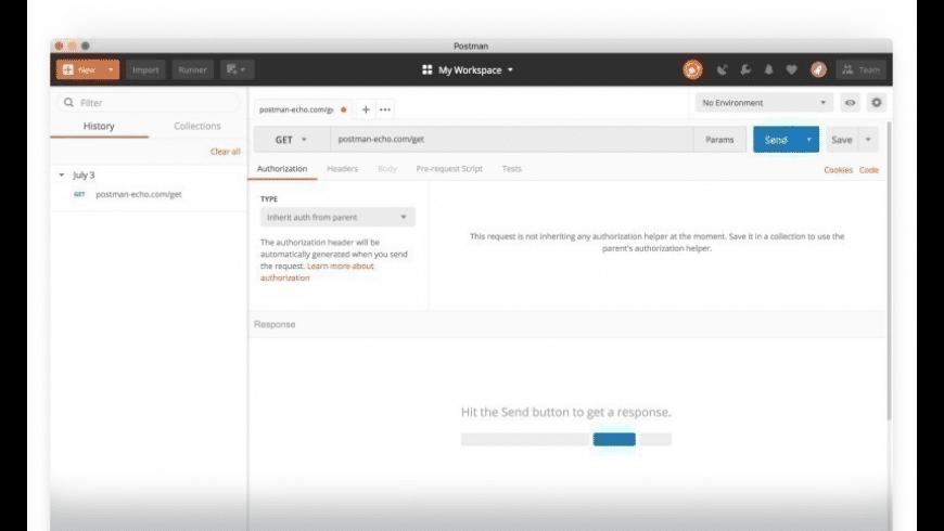 Postman for Mac - review, screenshots