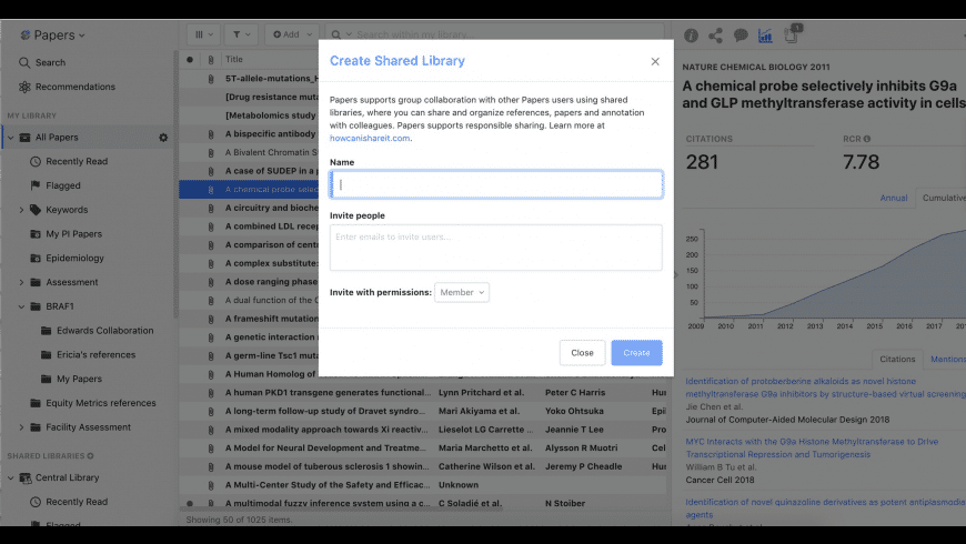 ReadCube Papers for Mac - review, screenshots