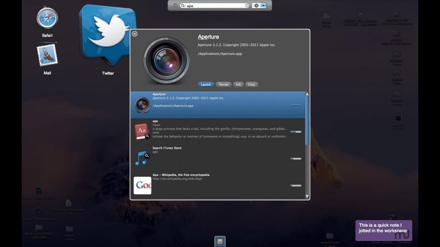 Intent for Mac - review, screenshots