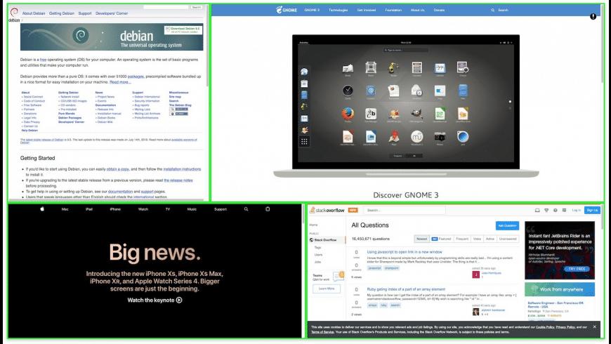 SplitBrowser for Mac - review, screenshots