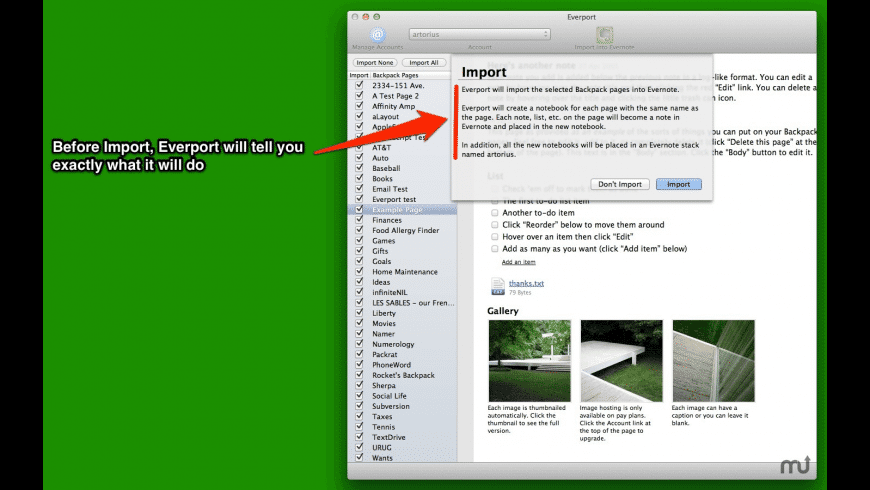 Everport for Mac - review, screenshots