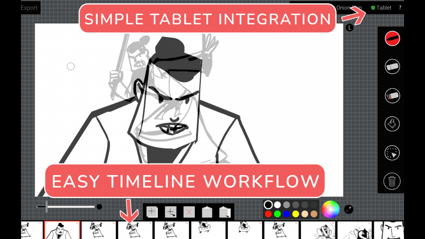 Animation Sketchpad for Mac - review, screenshots