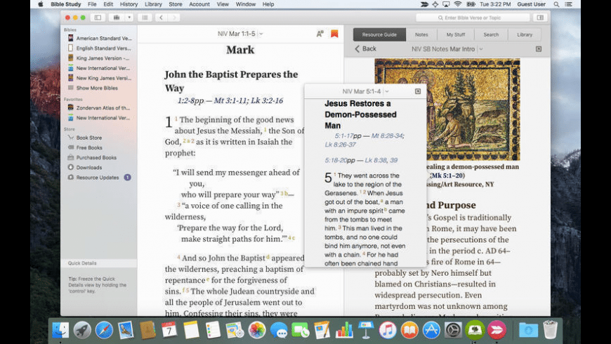 Bible Study for Mac - review, screenshots