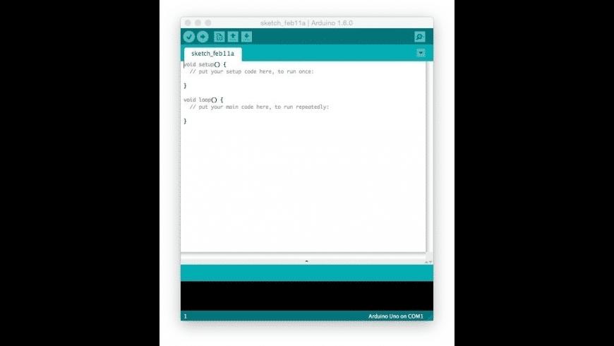 Arduino for Mac - review, screenshots