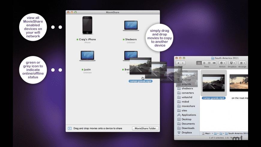 MovieShare for Mac - review, screenshots