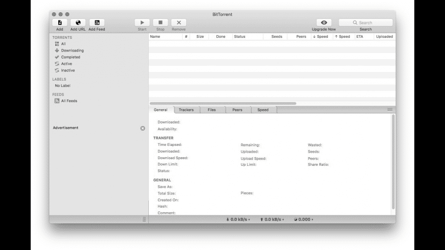 BitTorrent for Mac - review, screenshots