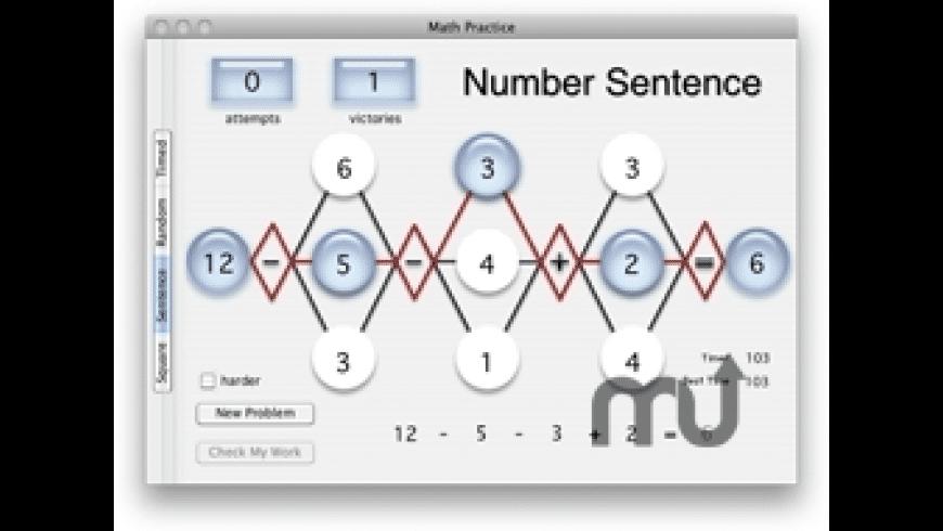 Math Practice for Mac - review, screenshots