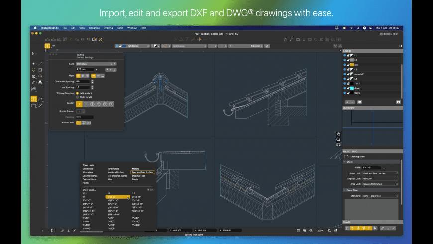 HighDesign Lt for Mac - review, screenshots