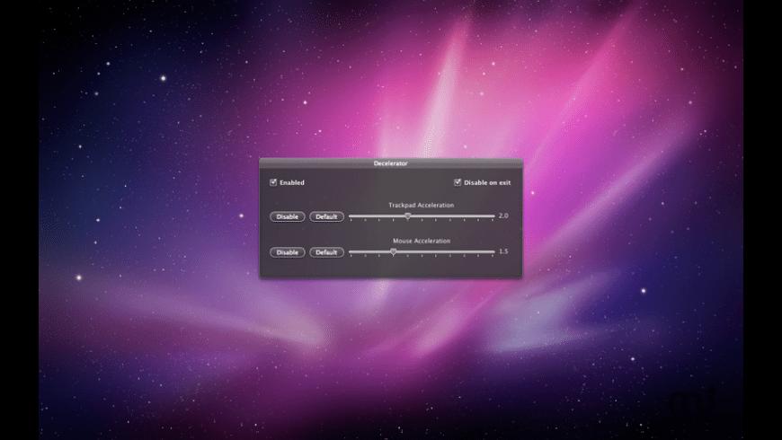 Decelerate for Mac - review, screenshots