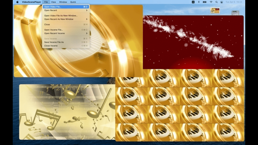 VideoScenePlayer for Mac - review, screenshots