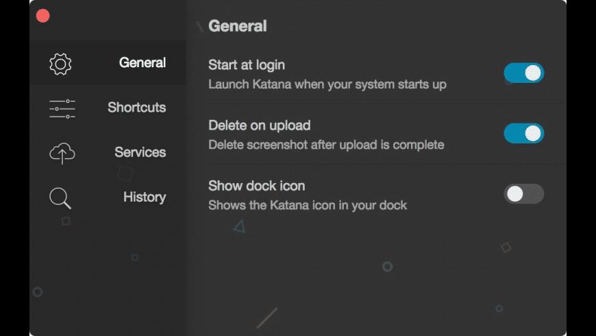 Katana for Mac - review, screenshots