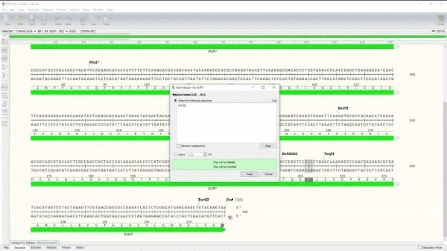 SnapGene for Mac - review, screenshots