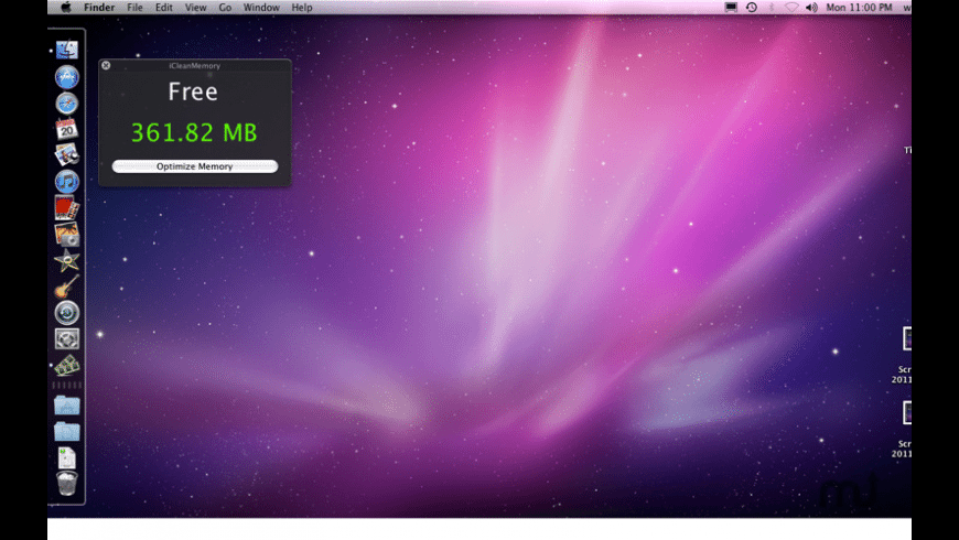 iCleanMemory for Mac - review, screenshots