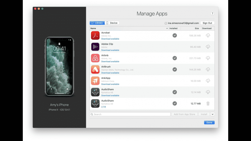 iMazing for Mac - review, screenshots