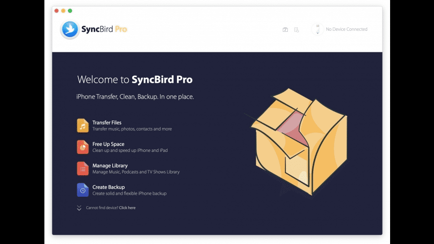 SyncBird Pro for Mac - review, screenshots