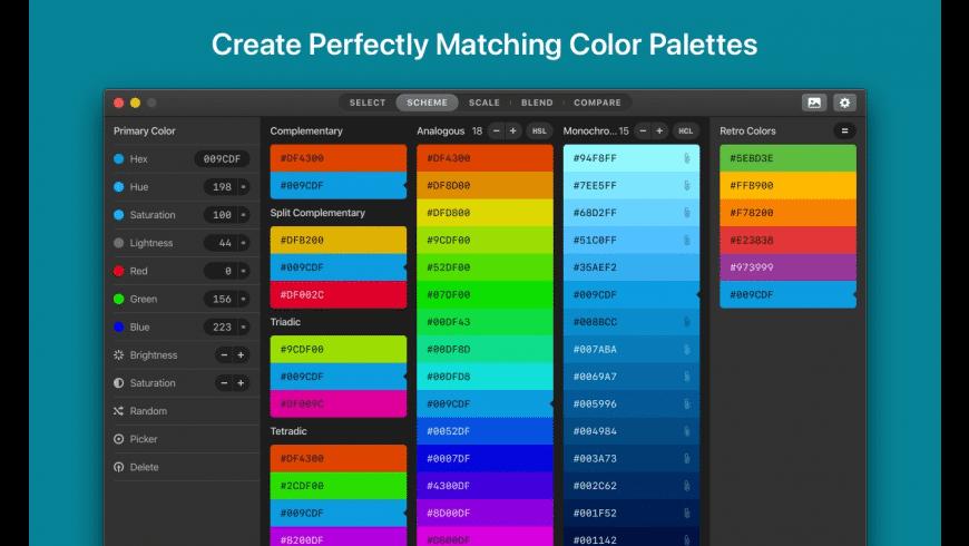 Paletter for Mac - review, screenshots