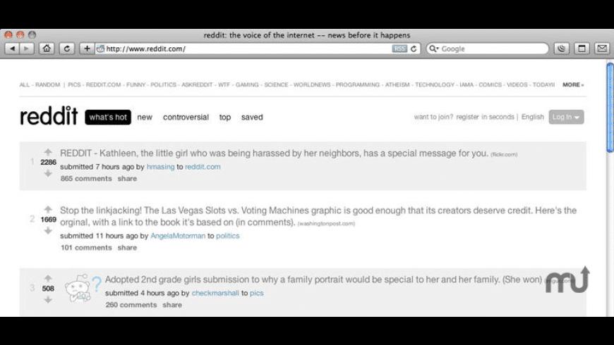 Reddit Minimal for Mac - review, screenshots