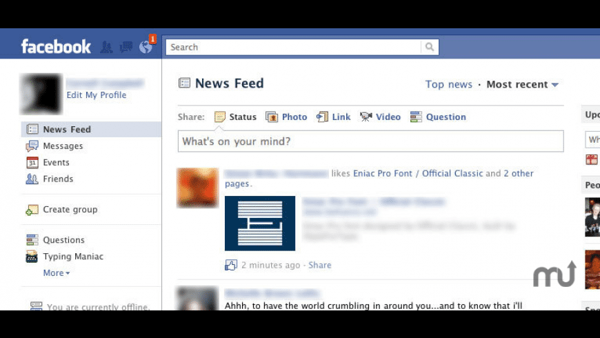 FacebookNotifier Safari Extension for Mac - review, screenshots
