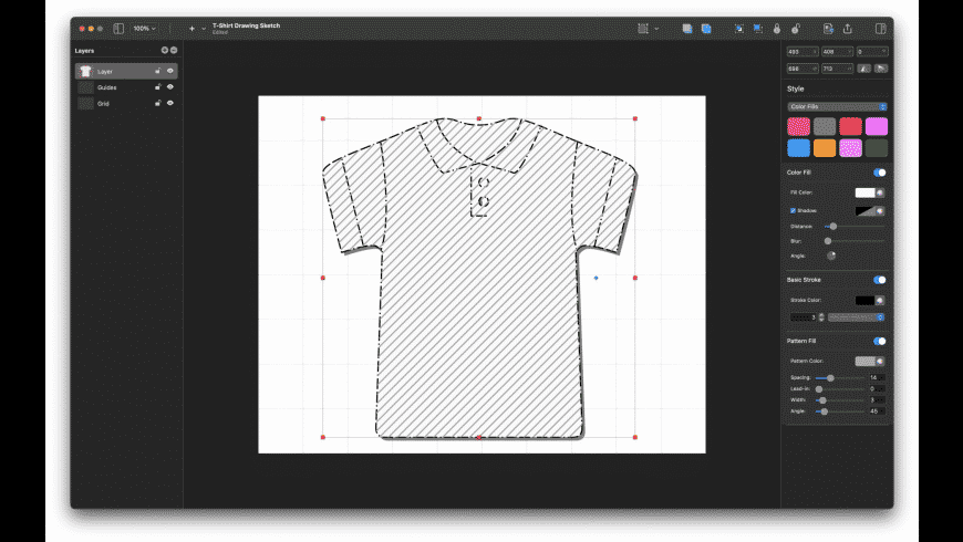 Sketch Fashion for Mac - review, screenshots