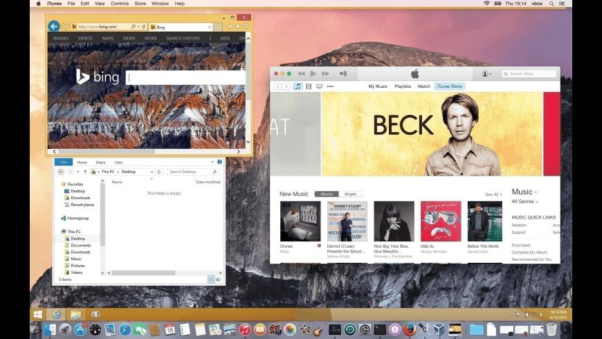 VirtualBox for Mac - review, screenshots