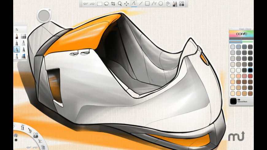 SketchBook Copic Edition for Mac - review, screenshots