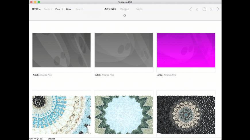 Tessera for Mac - review, screenshots
