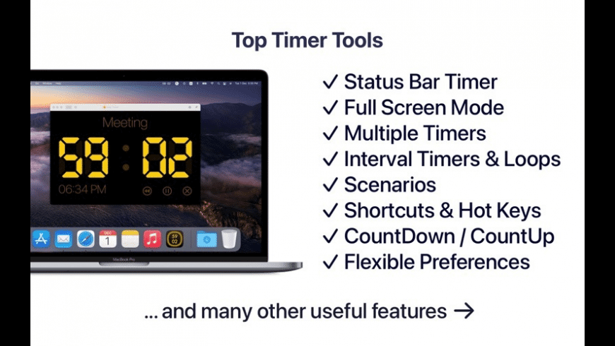 Timer R‪H for Mac - review, screenshots