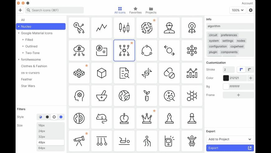 Nucleo for Mac - review, screenshots