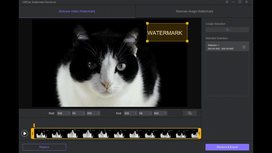HitPaw Watermark Remover for Mac - review, screenshots