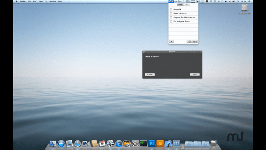 Air Todo for Mac - review, screenshots