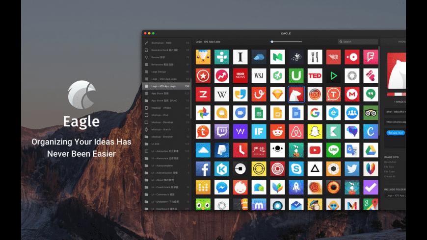 Eagle for Mac - review, screenshots