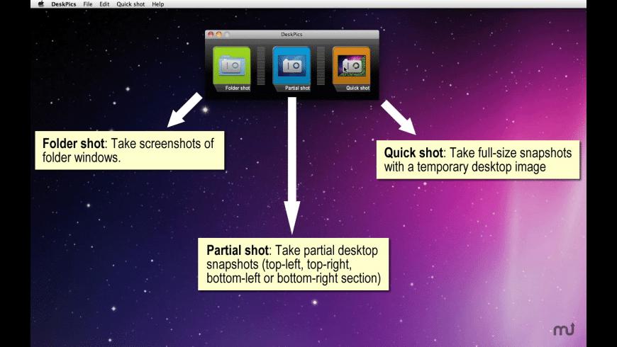 DeskPics for Mac - review, screenshots