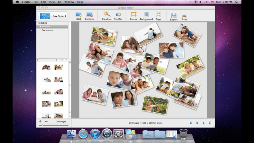 Collage Maker for Mac - review, screenshots