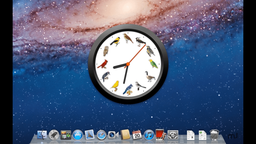BirdClock for Mac - review, screenshots