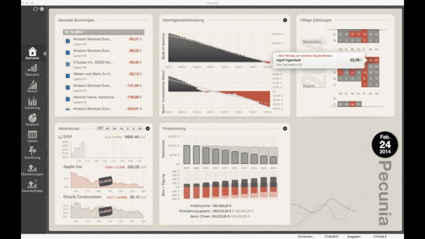 Pecunia for Mac - review, screenshots