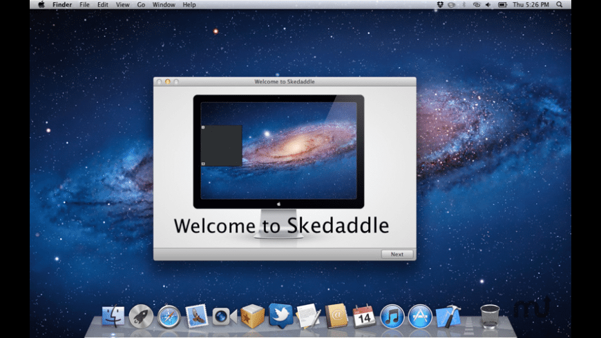 Skedaddle for Mac - review, screenshots