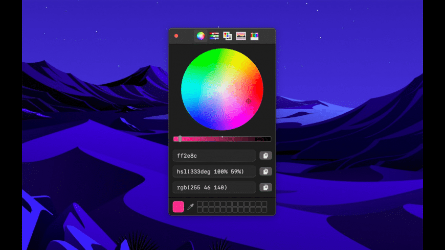 System Color Picker for Mac - review, screenshots