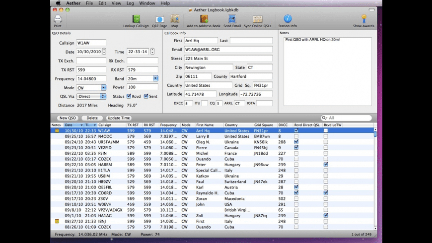 Aether for Mac - review, screenshots